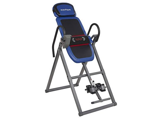 ITM4800 Heat and Massage Inversion Table by Innova Health and Fitness