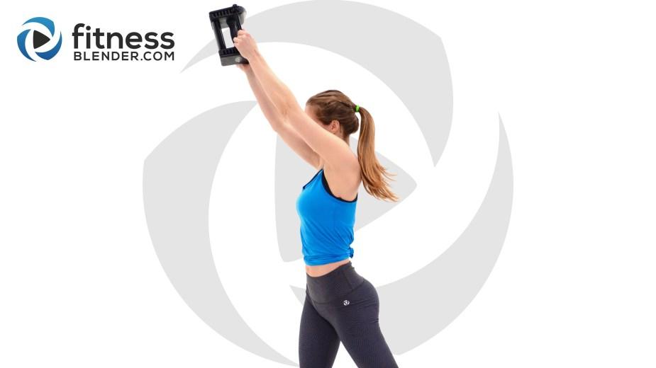 fitness blender upper body