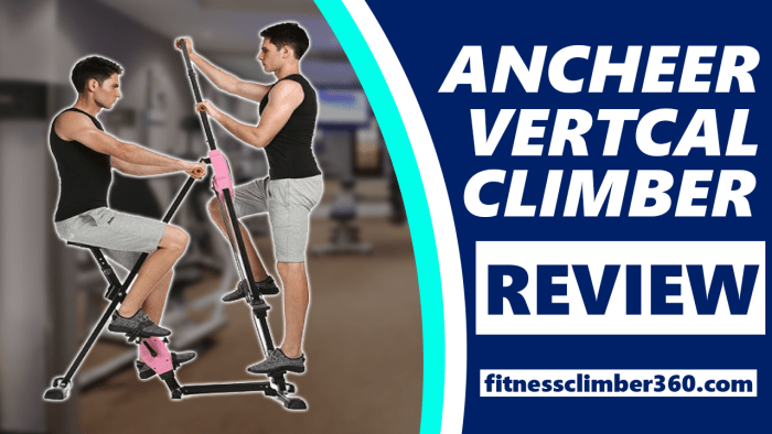ancheer vertical climber review