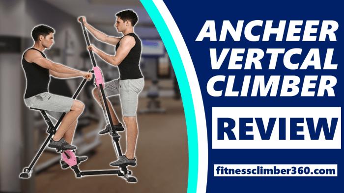 ancheer vertical climber review