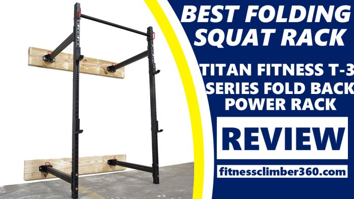 best folding squat rack