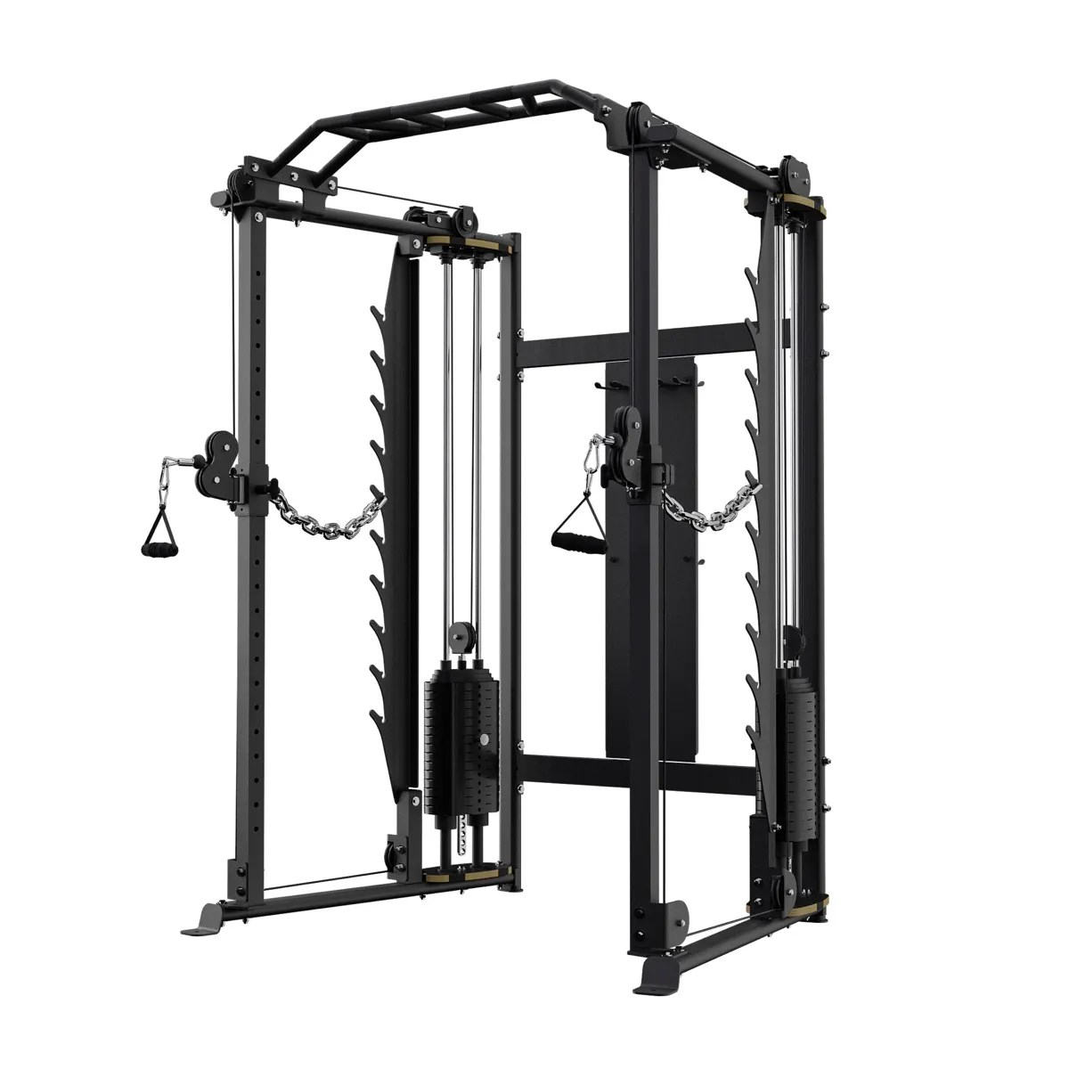 functional trainer with power rack