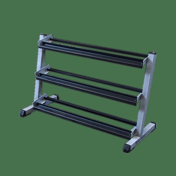 body solid 48 3 tier dumbbell rack gdr48
