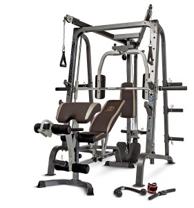 Marcy Smith Cage Workout Machine Total Body Training Home Gym with Linear Bearing MD-9010G