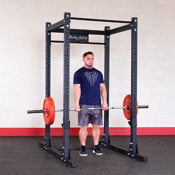 body solid spr1000 commercial power rack spr1000