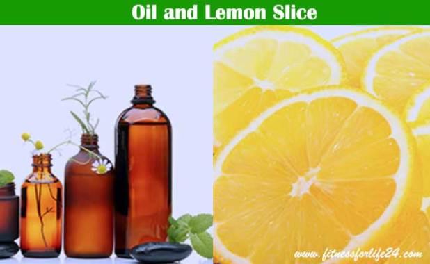 Oil and Lemon Slice