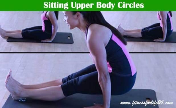 Sitting Upper Body Circles