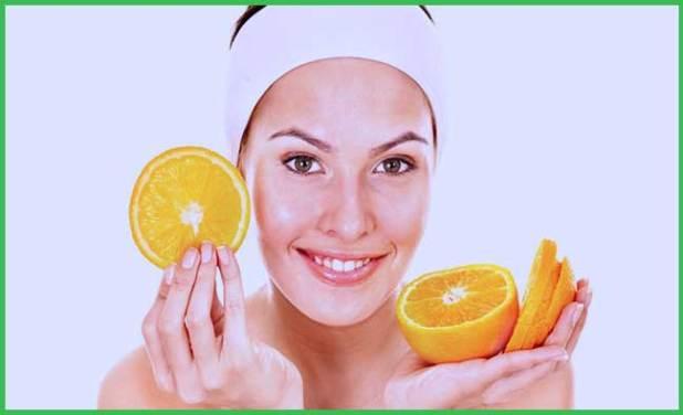 Orange Peel and Lemonfor Skin Care