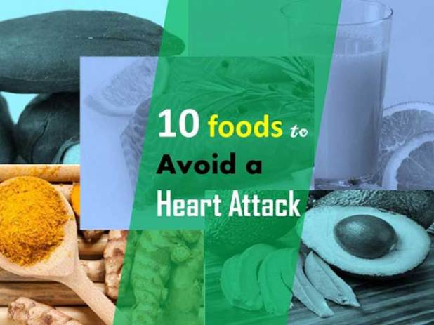 foods to Avoid a Heart Attack