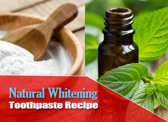 Homemade Whitening Toothpaste