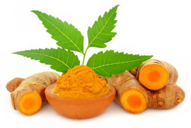 Neem and Turmeric Face Pack