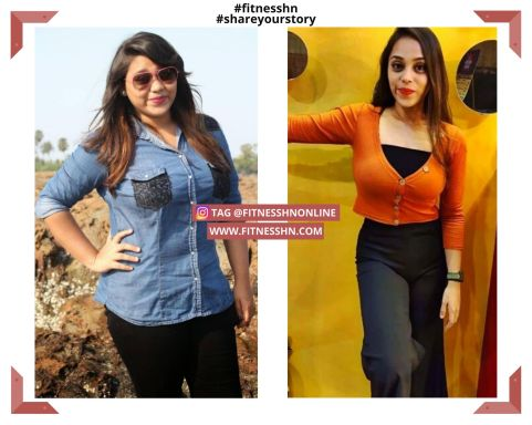 Maitri Halde - Fat to Fit Journey | Fitness HN