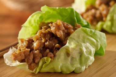 Ditch the chicken, broccoli and brown rice. Add this lettuce leaf taco to your lunch time menu.