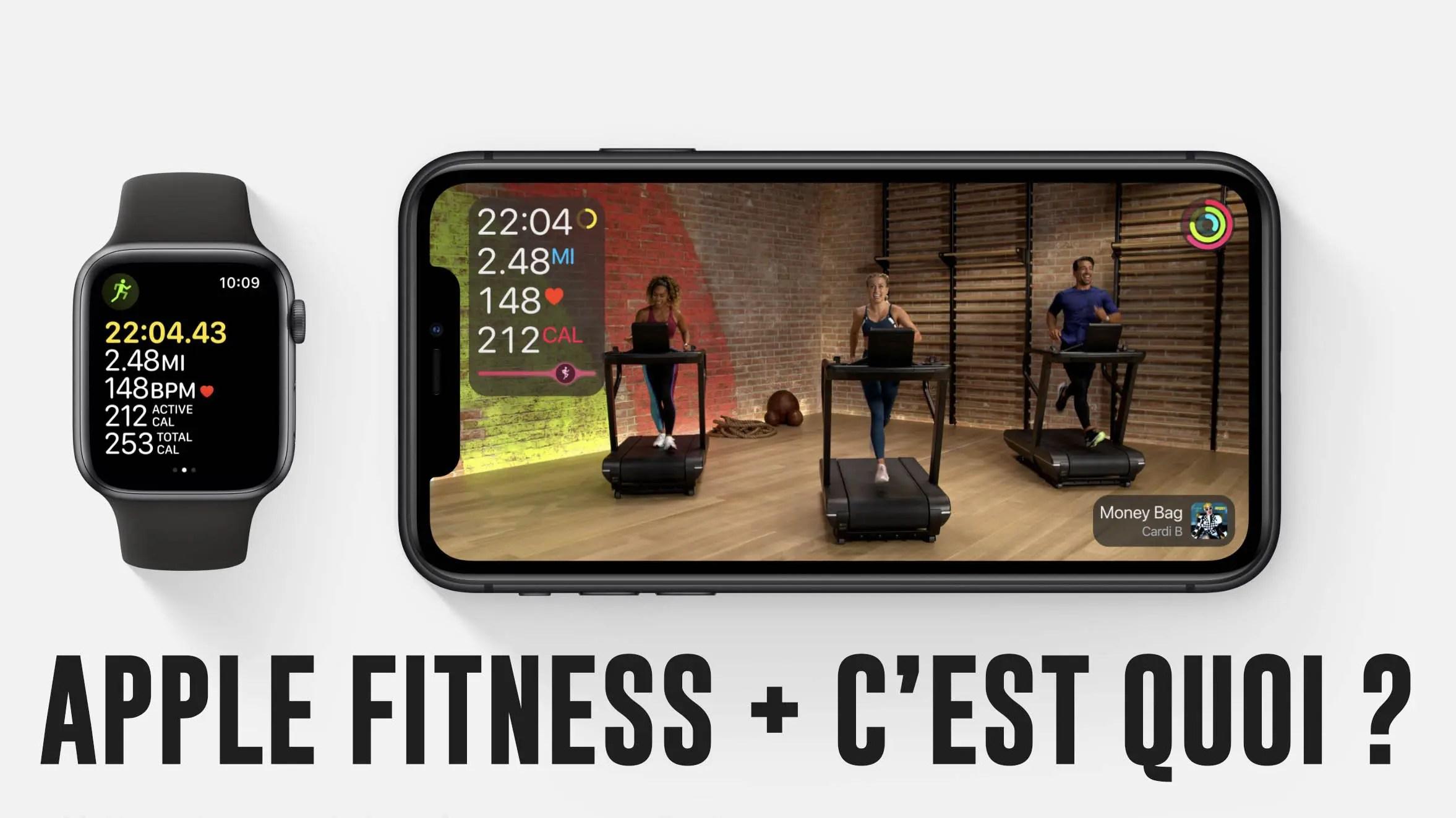 Apple Fitness + c'est quoi ?