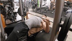 developpé couché musculation