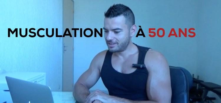 🔒Musculation à 50 ans