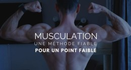 🔒Point faible musculaire, la solution radicale