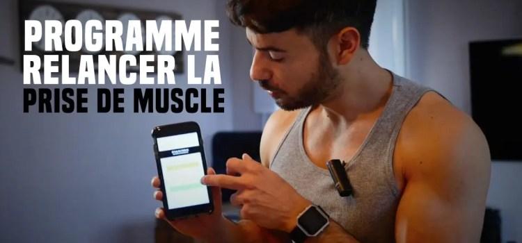 🔒Programme relance : relancer la prise de muscle après un arrêt