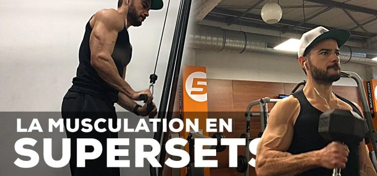 Programme superset en musculation