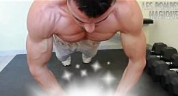 Muscler les pectoraux avec des pompes