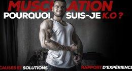Arrêt musculation , les causes et solutions