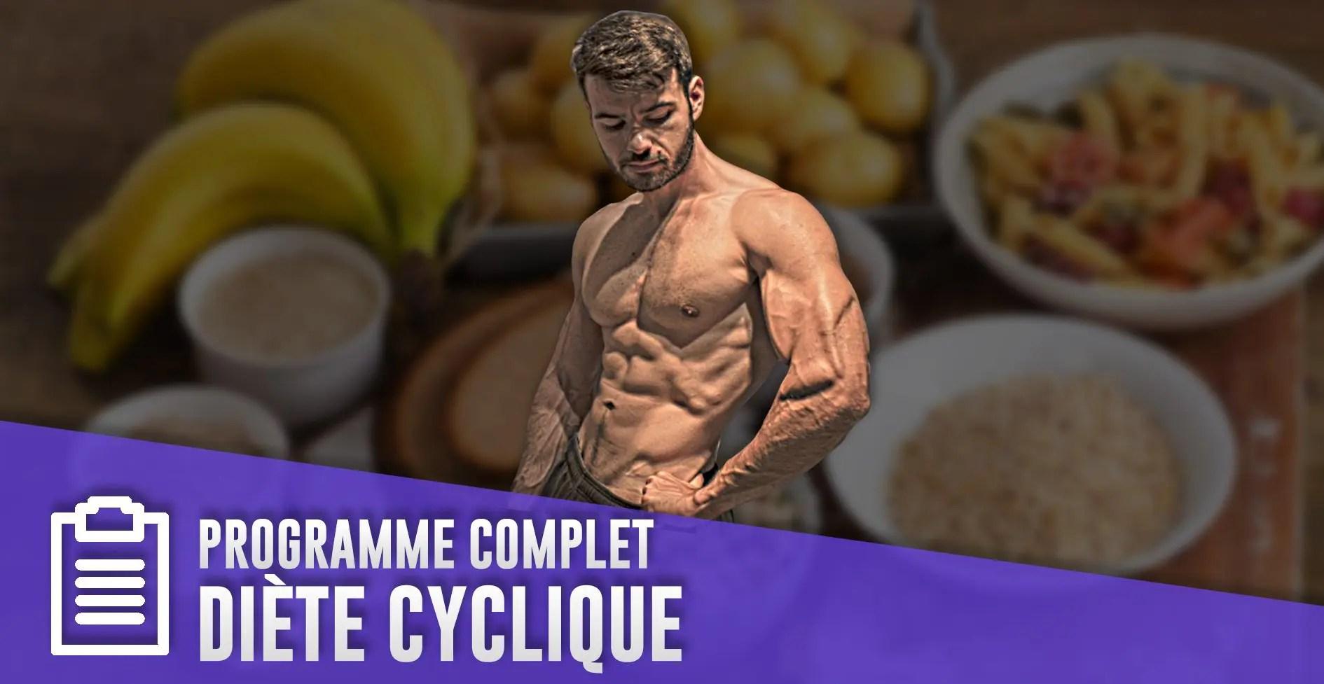Comment faire une diète cyclique en musculation