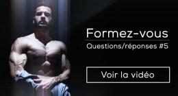 FAQ 5 : travailler dans le fitness, blessures, point faible, huile de coco…