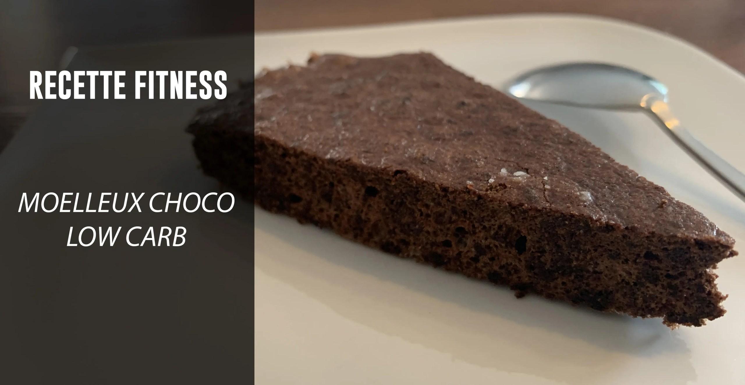 Recette fitness: Moelleux au chocolat pauvre en glucides