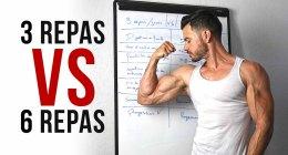 🔒 Comment manger pour se muscler, 3 repas ou 6 repas en musculation !