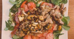 Recette fitness : Wok sans glucides et salade pour des abdos visibles