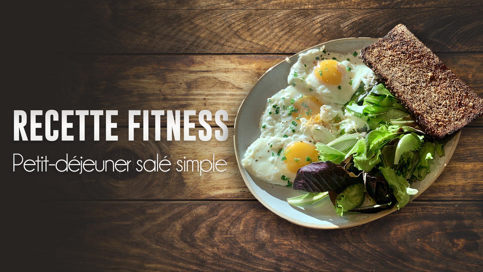 recette fitness petit dejeuner