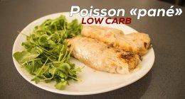 Recette low carb de poisson pané ( sans gluten )