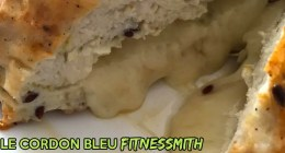 Recette fitness de cordon bleu pour régime sans glucide