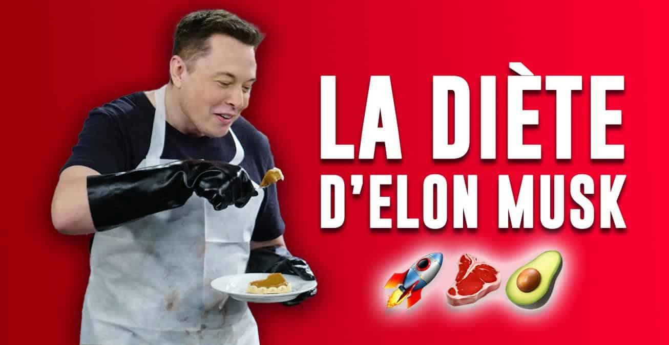 Le régime alimentaire d'Elon MUSK pour réussir
