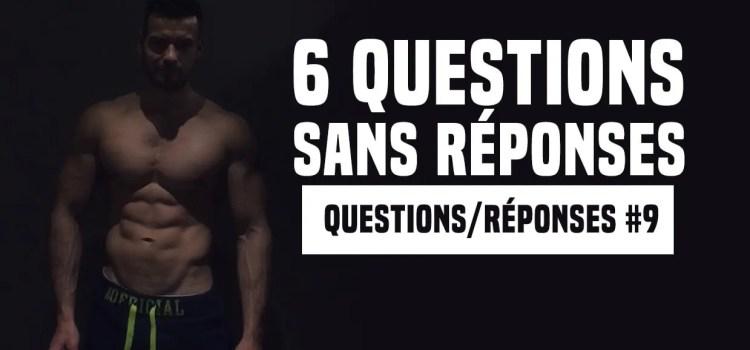 Rebond glucidique, timing des repas, prendre du muscle après un arrêt... | Questions & réponses #9
