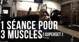 Comment gagner du temps sur la semaine en musculation