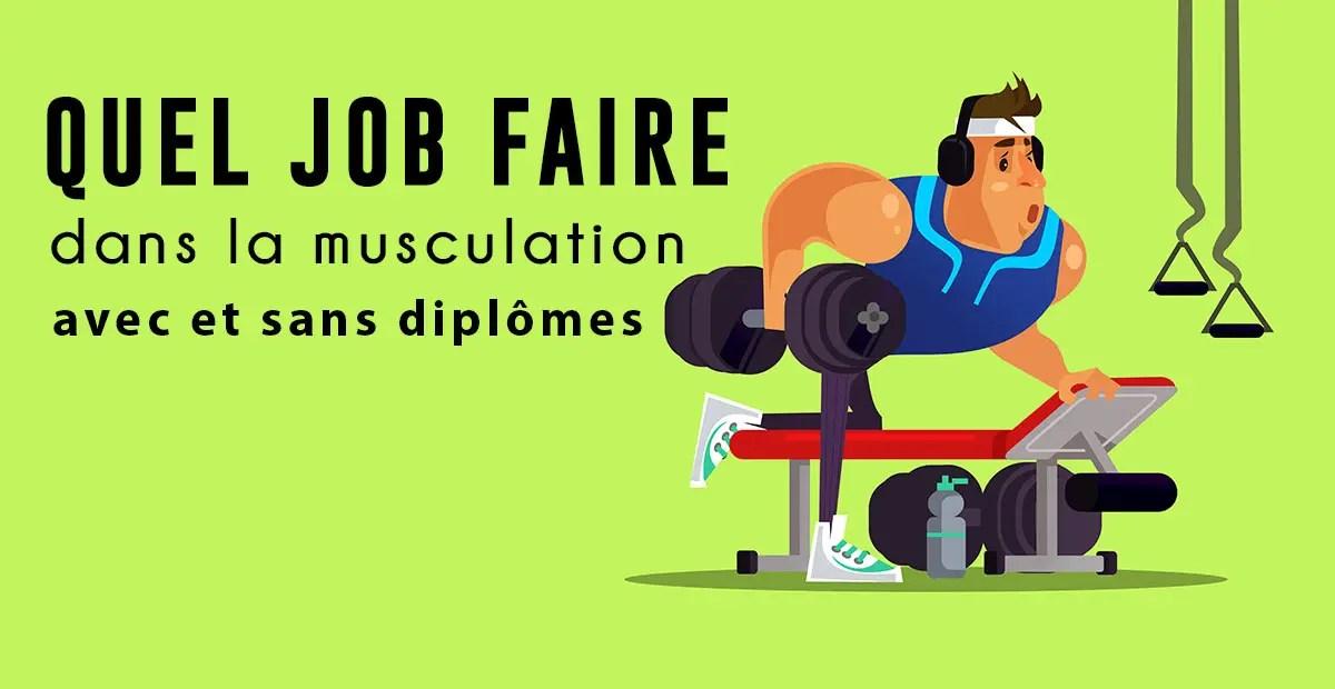 14 métiers fitness avec ou sans diplômes