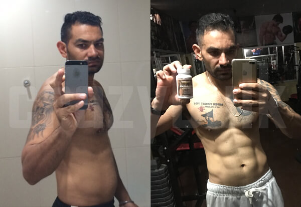 Balwinder used clenbutrol for 5 weeks to get his six pack