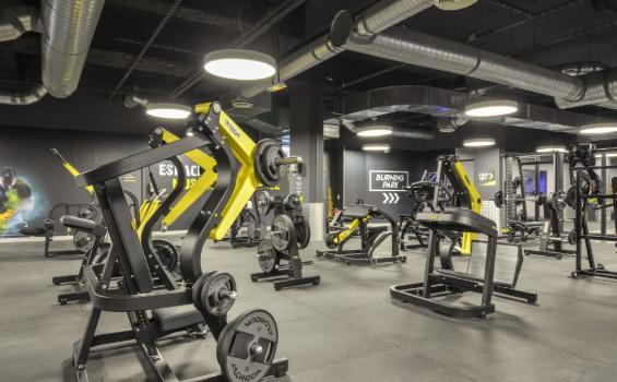 salle de musculation fitness park