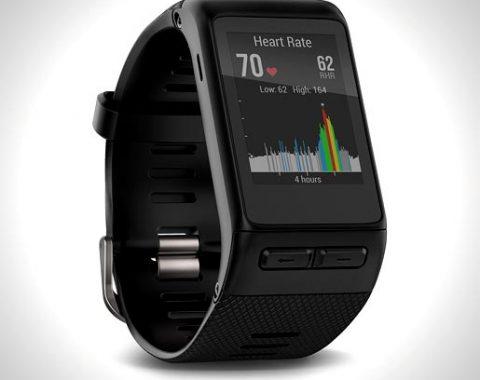 Garmin-vívoactive-HR-GPS-Smart-Watch,-Regular-fit—Black