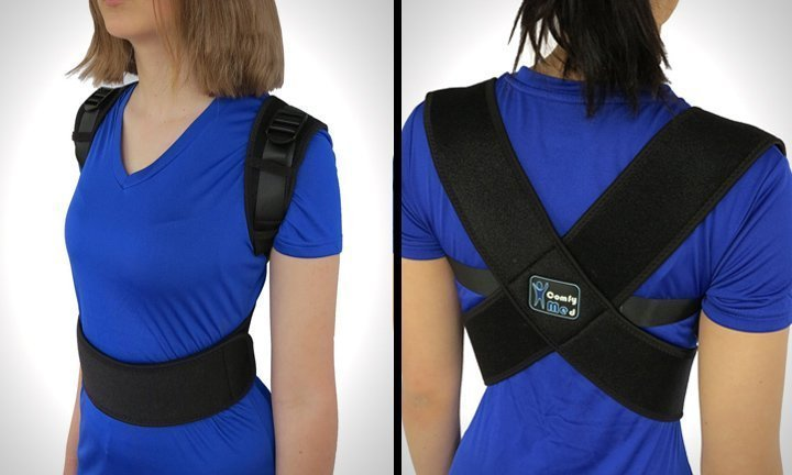 ComfyMed® Posture Corrector Clavicle Chest Support Brace for Men and Women