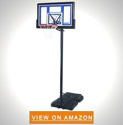 Lifetime 1531 Portable Basketball System 48 Inch Shatterproof Backboard - Best Portable Basketball Hoop To Buy: Top 10 Reviews in 2020