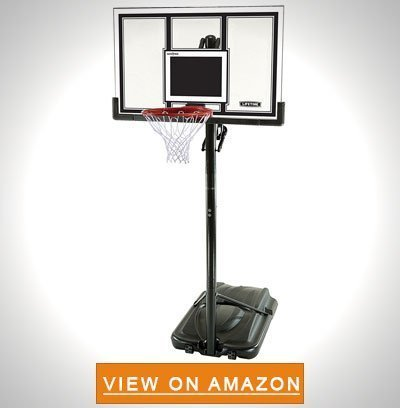 Lifetime 71524 XL Height Adjustable Portable Basketball System 54 Inch Shatterproof Backboard - Best Portable Basketball Hoop To Buy: Top 10 Reviews in 2020