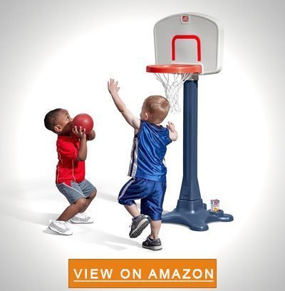 Step2 Shootin Hoops Junior Basketball Set - Best Portable Basketball Hoop To Buy: Top 10 Reviews in 2020