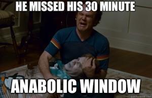 Resultado de imagen de ventana anabolica