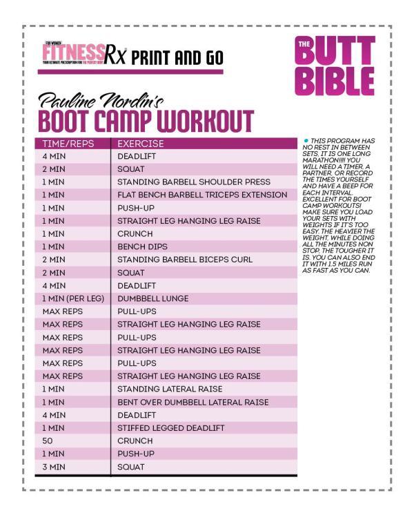 Butt Bible Bootcamp