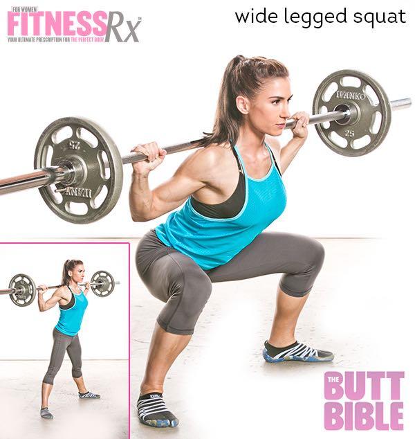 Wide Legged Squat