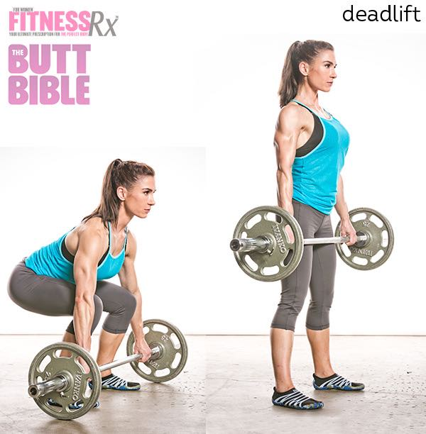 Pauline Nordin's Metabolic Booster Workout - Deadlift