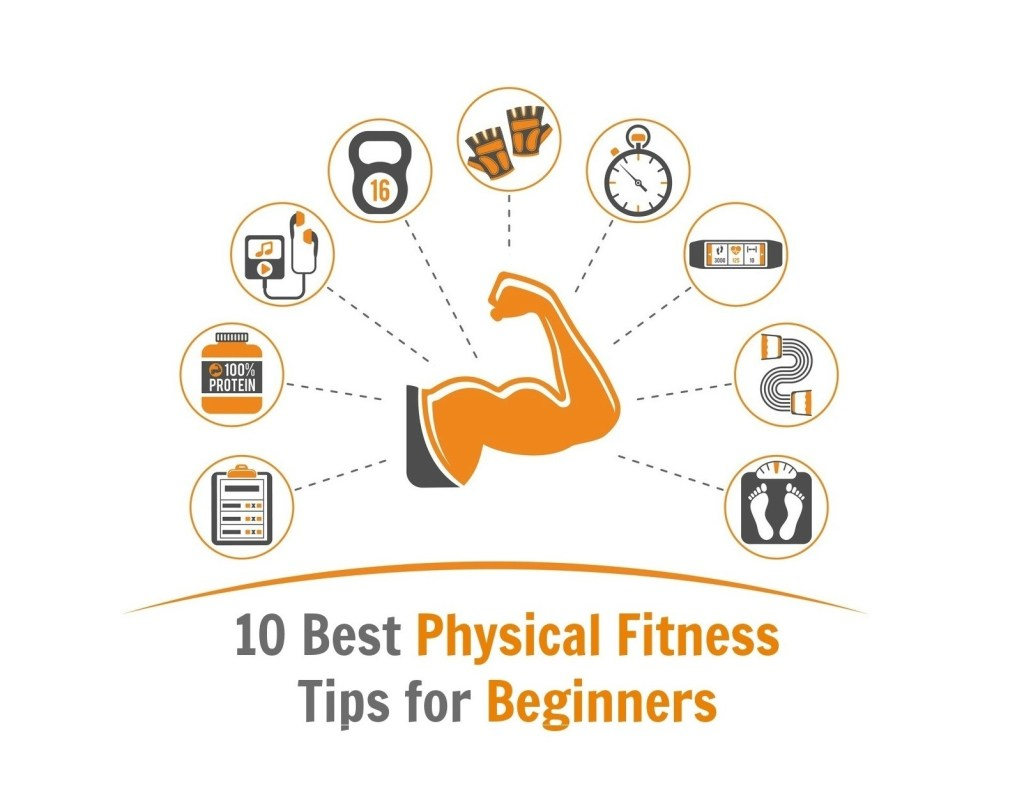 10 Best Physical Fitness Tips For Beginners Fitness Sports