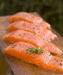salmon for good skin